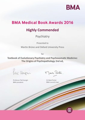 BMA Medical Book Award